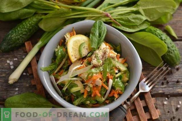 Chicken Salad with Avocado and Cucumber