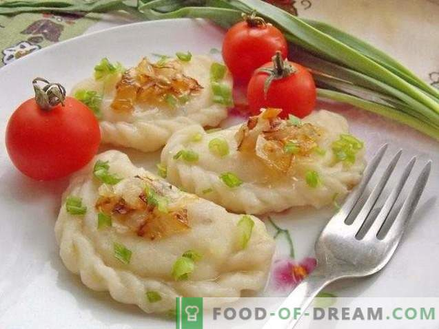 Dumplings with potatoes