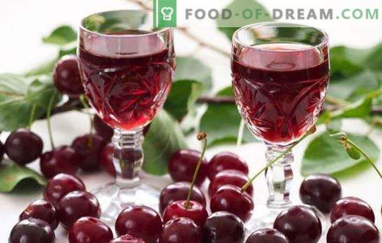 Homemade cherry liqueur on vodka is a tasty delicacy for adults. What to cook with homemade cherry tincture on vodka?