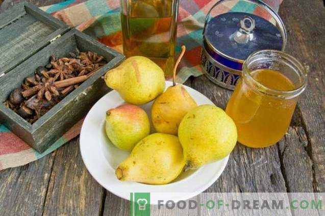 Honey Pears
