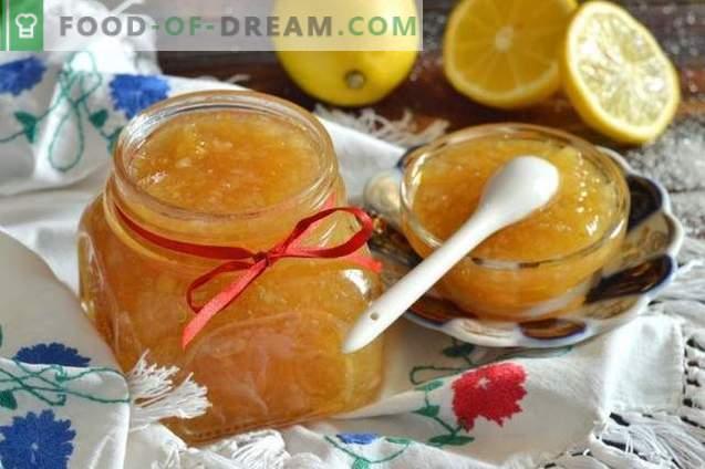 Lemon Jam - Quick Recipe