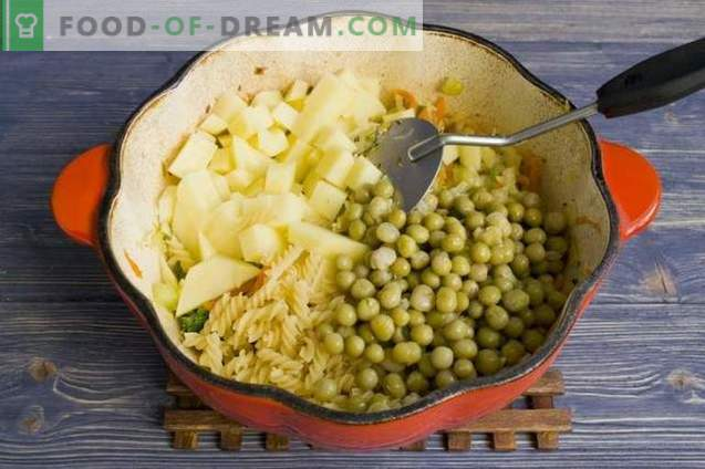 Soup with Canned Peas