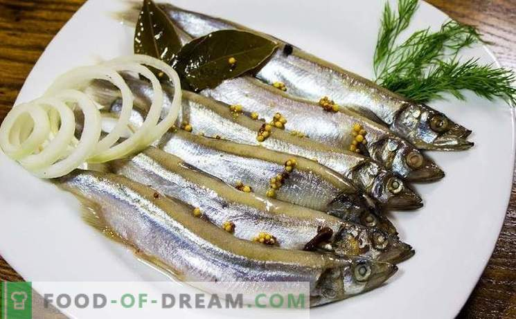 How to pickle herring in different ways