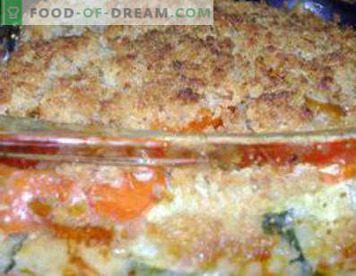 Squash casserole with minced meat, delicious and light zucchini casserole recipes
