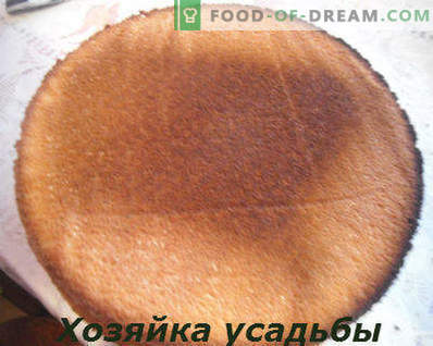 Sponge cake, classic recipe with photo, 6 eggs, 4 eggs, with sour cream, in the oven, multi-cooker