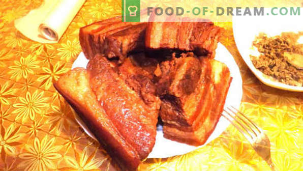 Salo in onion peel is the most delicious recipe, how to salt correctly, how much to cook.