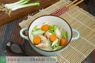 Chinese Chicken Soup with Funchoza