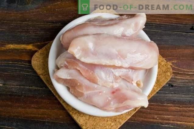 Homemade jerked chicken breasts