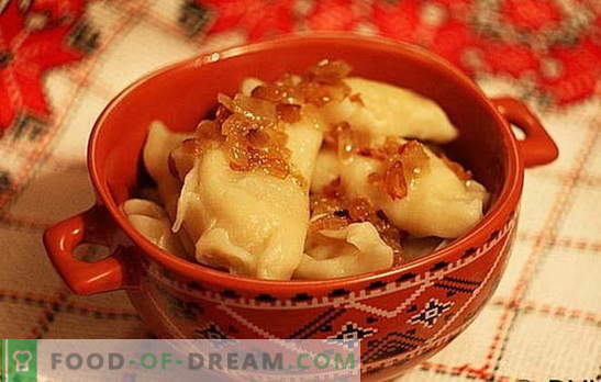 Dumplings with potatoes and cabbage: quick, tasty, inexpensive. A selection of the best dietary dumplings recipes with potatoes and cabbage