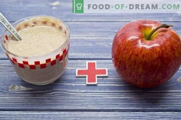 Apple and Hercules Smoothies - Healthy Breakfast