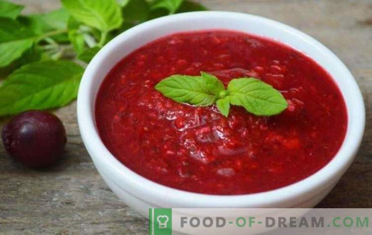 Tkemali sauce for the winter: 5 step-by-step recipes for preparing the sauce in various variations