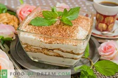 Homemade Tiramisu Dessert Recipe