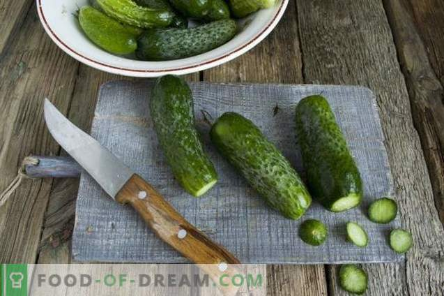 Pickled cucumbers for the winter