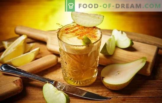 Homemade tincture of apples - quickly, useful, affordable, magical! The main methods of cooking homemade tincture of apples