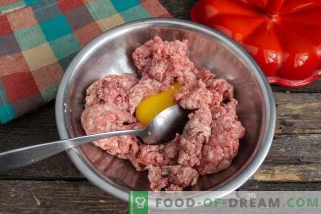 Italian Meatballs, or Meat Balls in Vegetable Sauce