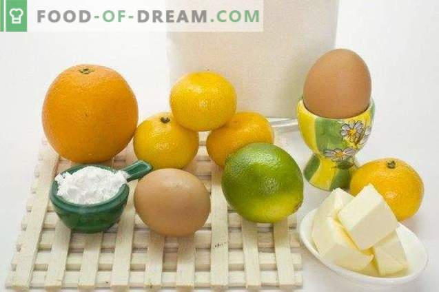 Kurd orange with lime and tangerines