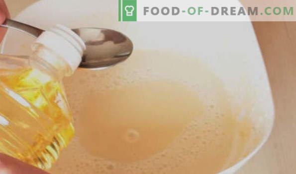Pancakes on sour milk, recipes thick, thin, openwork, lush