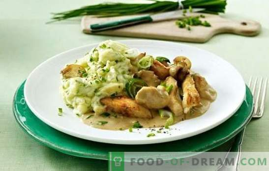 Chicken and mushroom fricassee: step-by-step recipes. How to cook exclusive chicken fricassee with mushrooms and vegetables