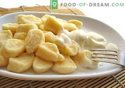 Dumplings with cottage cheese - the best recipes. How to properly and tasty cook traditional and lazy dumplings with cottage cheese at home.