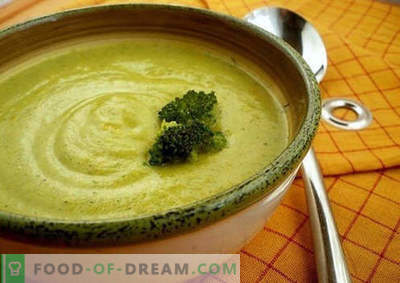 Broccoli puree is the best recipe. How to properly and tasty cooked broccoli puree.