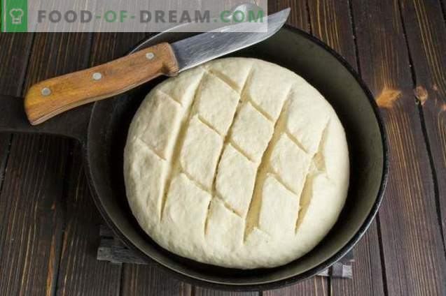 Homemade Yeast Bread in the Oven