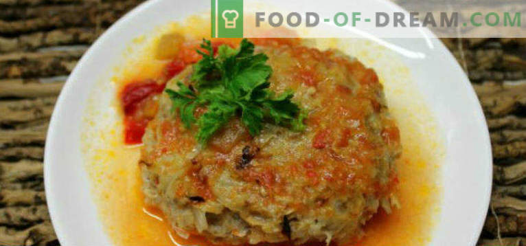 How to cook lazy cabbage rolls in a slow cooker