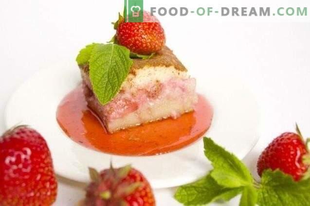 Klafuti with strawberries