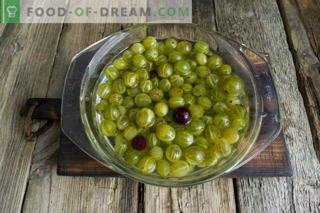 Gooseberry jam for the winter