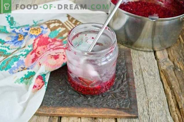 Raspberry jam for the winter in 10 minutes