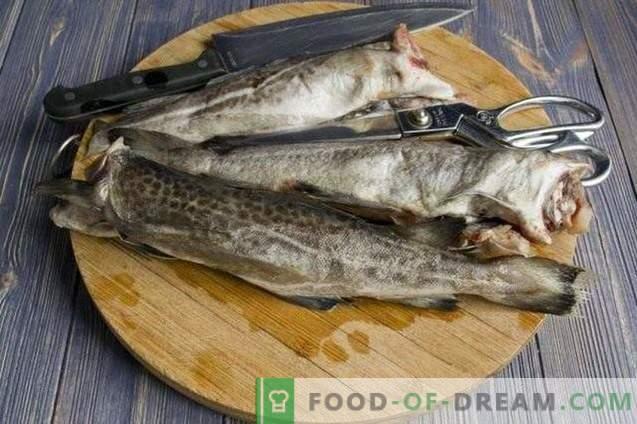 Delicious cod fish cakes