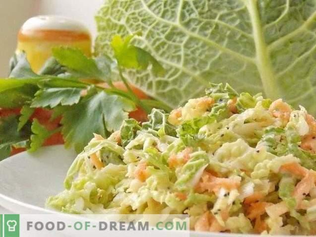 Cole Slow Cabbage Salad