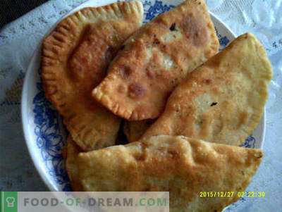 How to make pasties at home tasty and fast