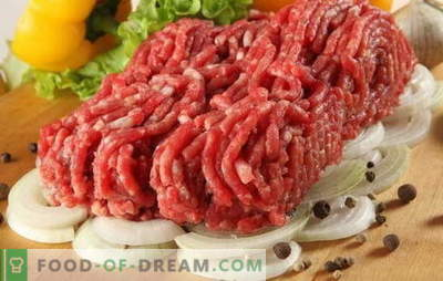 What to cook from minced meat besides cutlets - we are looking for granny notebooks. Cooking minced meat - muffins, rolls, kebabs