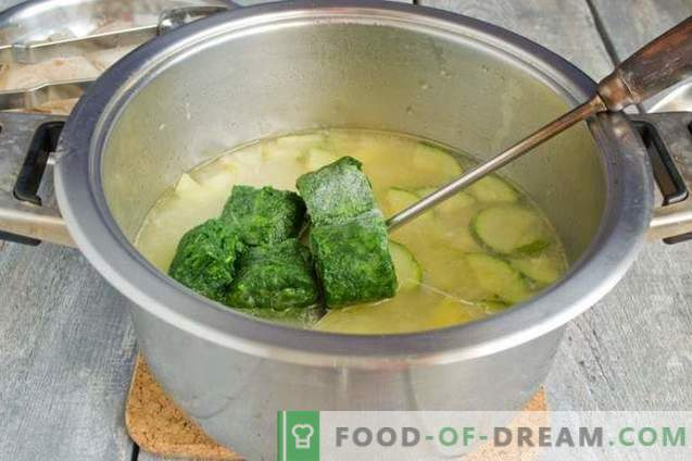 Green Spinach Soups