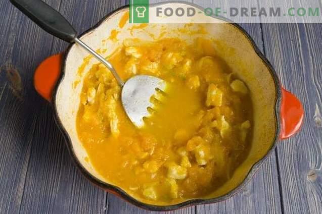 Chicken Stew with Pumpkin