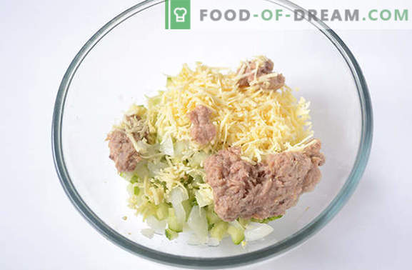 Tuna Salad: A useful high protein snack. Step-by-step recipe author's photo-recipe of spicy salad with tuna, eggs, cheese