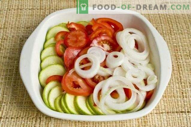 Salad of baked vegetables for the winter