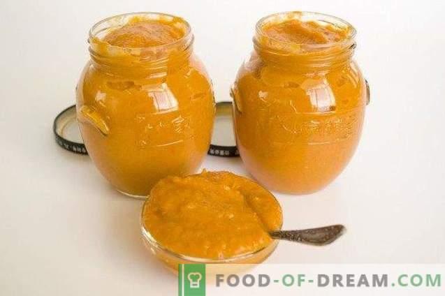 Squash caviar from baked vegetables