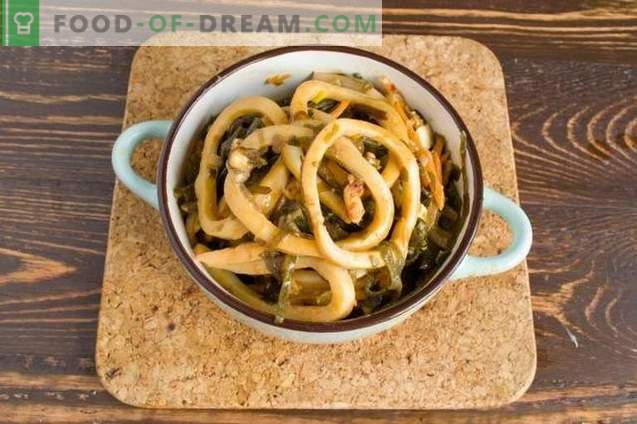 Korean Squids - Delicious Seafood Salad