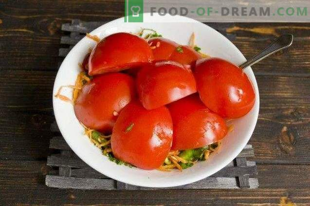 Korean Fast Pickled Tomatoes