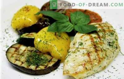 Juicy chicken breast with vegetables: yummy! The best recipes for chicken breast with vegetables, cheese, dried apricots, beans, olives