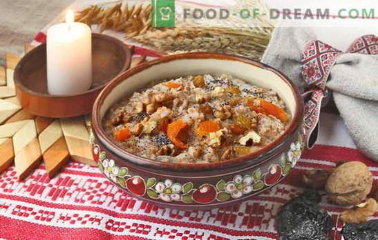 How to cook rice with raisin kutia. Recipes for kutia commemorative with raisins and Christmas kutia