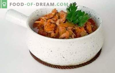 Tatar azu with pickles - a magnificent scent! Recipes of the present and fantasy azu with pickles