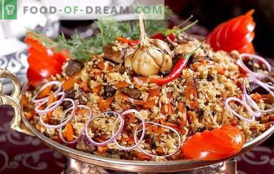 Uzbek plov and pilaf in Azerbaijani: what is the difference?