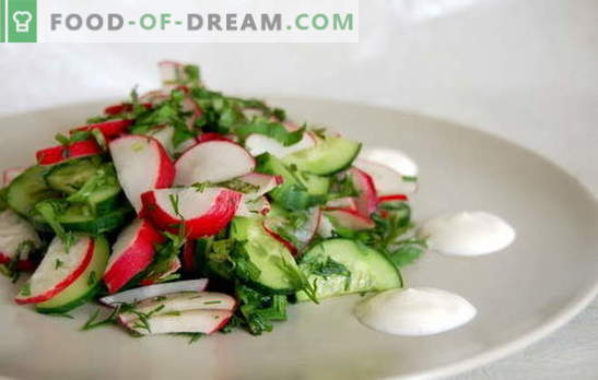 Favorite recipes of simple salads in a hurry. Simple salads in a hurry for every day and for the holiday table