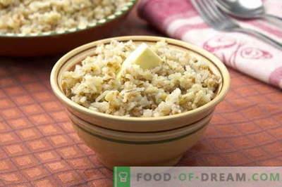 Orz de cereale - cele mai bune retete. Cum să gătești terci de orz.