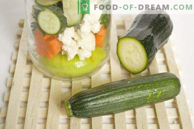 Vegetable platter for the winter