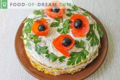Zucchini cake - an original snack and a wonderful treat