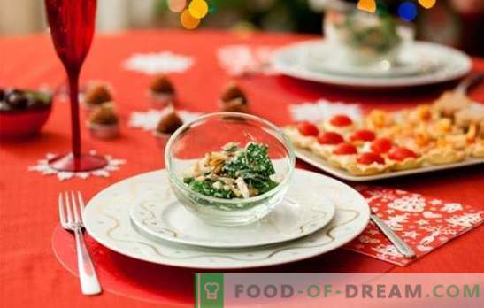 Finger-food on the New Year's table: how to improve the body and eat well?