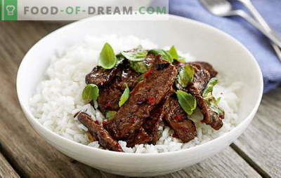 Thai meat is exotic in your kitchen. The best recipes for meat in Thai: chicken, beef, veal, pork